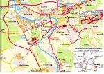 LKW-Routenplan