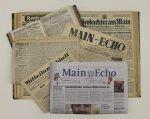 Historische und aktuelle Zeitungen