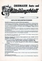 Obernauer Amts- und Mitteilungsblatt, 1969
