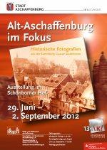 Plakat Alt-Aschaffenburg im Fokus