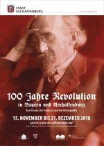 Plakat zur Ausstellung 100 Jahre Revolution