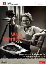 Plakat Wera Schröner Porträts
