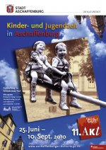 Plakat Kinder- und Jugendzeit in Aschaffenburg
