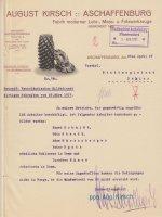 Mitteilung der Firma August Kirsch über die Vertreter des Arbeitsausschusses, 5. April 1917 (aus: SSAA, SBZ 1 2155)