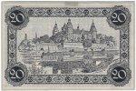 20er Notgeldschein der Stadt Aschaffenburg (aus: SSAA, Archivische Sammlungen)