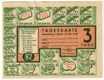 Tageskarte für Brot, 1948