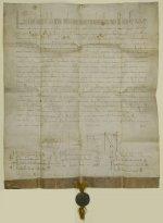 Feierliches Privileg von Papst Lucius III.