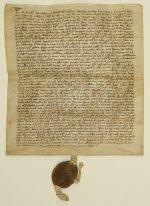 Mittelalterliche Pergamenturkunde