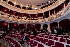 Blick in das Stadttheater