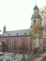 Die Sandkirche in Aschaffenburg
