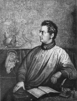 Bild, das Clemens Brentano zeigt.
