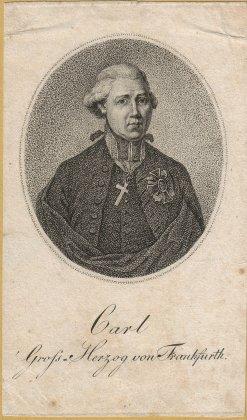 Bild, das Carl von Dalberg zeigt.