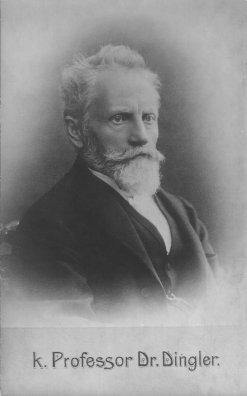 Bild, das Hermann Dingler zeigt.