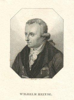 Bild, das Wilhelm Heinse zeigt.