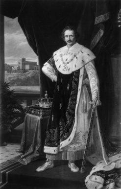 Bild, das Ludwig I. zeigt.