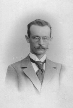 Bild, das Gustav Trockenbrodt zeigt.