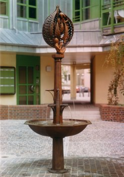Ansicht des Brentano-Brunnens