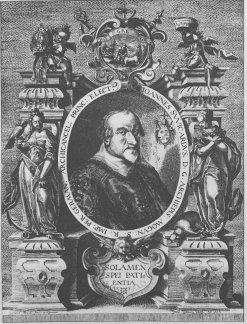 Kupferstich von Petrus Isselburg, 1606, Stadt- und Stiftsarchiv.