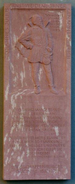 Ansicht des Denkmals
