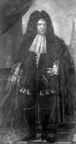 Bild, das Melchior Friedrich Graf von Schönborn zeigt.