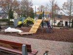 Spielplatz ist noch Baustelle