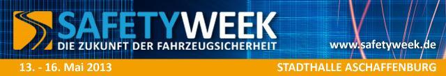 Logo Safety Week 2013