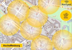 WLAN Hot-Spots in Aschaffenburg