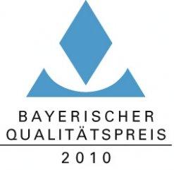 Logo Bayerischer Qualitätspreis 2010