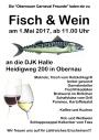 Fisch und Wein mit leckeren, frisch gegrillten Makrelen