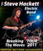 """Steve Hackett Electric Band (GB)"". Der ex-Genesis Gitarrist auf Breaking The Waves Tour – mit neuem Album ""Beyond the Shrouded Horizon"""